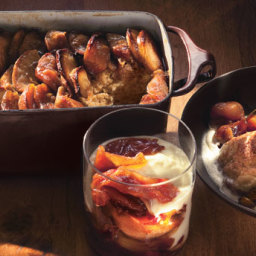 Apple and Maple Bread Pudding