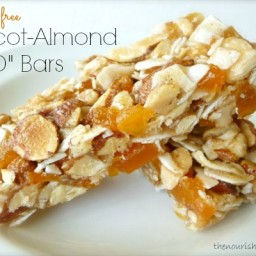 "Apricot-Almond ""KIND"" Bars (GF)"