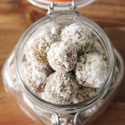 Apricot Coconut Snack Balls