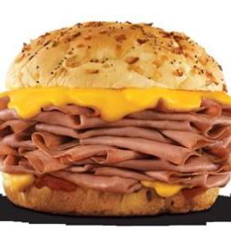 Arby's Roast Beef Sandwiches
