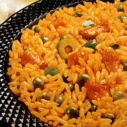 Arroz Con Gondules and Sofrito