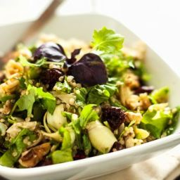 Artichoke, Arugula and Quinoa Salad
