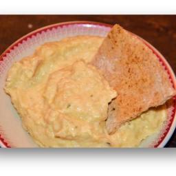 Artichoke Pesto Hummus