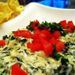 Artichoke & Spinach Dip Restaurant Style