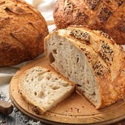 Artisan Sourdough Bread <i>made with a stiff starter</i>