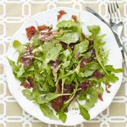 Arugula Salad with Crispy Prosciutto & Lemon Vinaigrette Recipe