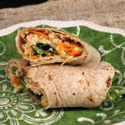 Asian Quinoa Wraps