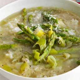Asparagus-and-Rice Soup