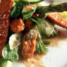 Asparagus and tempeh dijonnaise salad