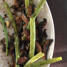 Asparagus, Mushrooms, & Garlic