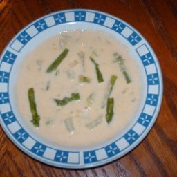 Asparagus Red Potato Soup