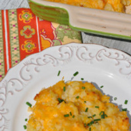 Aunt Bee's Sour Cream and Cheese Potatoes
