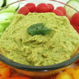 Avocado Hummus for dips, wraps, burgers...