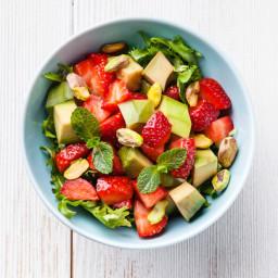 Avocado Strawberry Salad
