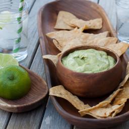 avocado-tahini dip