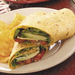 Avocado Tomato Wraps Recipe