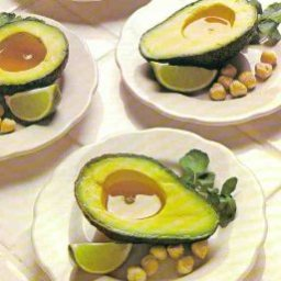 Avocados with Hazelnut Oil