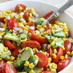 Avocado, Tomato and Corn Salad