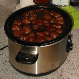 Awesome Sauce BBQ Meatballs