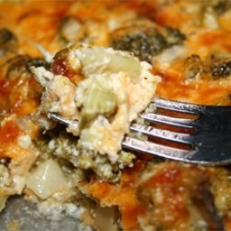 Awesome Broccoli Cheese Casserole