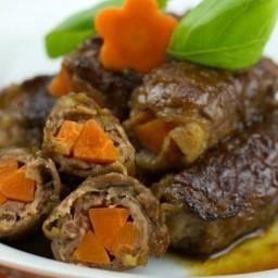 Baby Carrot Beef Rolls
