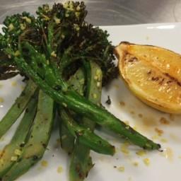 Baby Broccoli with Garlic and Lemon