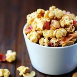 Bacon and Cashew Caramel Corn - BigOven