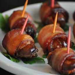 Bacon and Date Appetizer