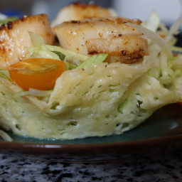 Bacon and Scallop Salad