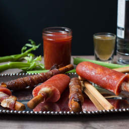 Bacon Bloody Mary Popsicles Recipe