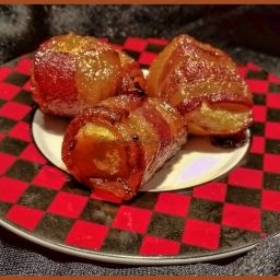Bacon Wrapped Acorn Squash