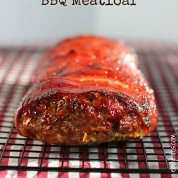 Bacon-Wrapped BBQ Meatloaf