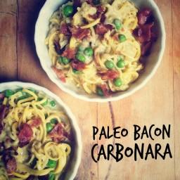 Bacon Carbanara Pasta
