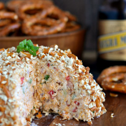 Bacon Ranch Beer Cheeseball