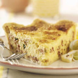Bacon Swiss Quiche Recipe