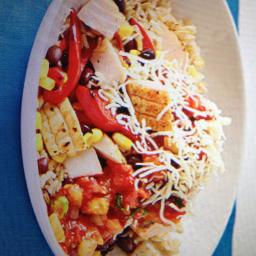 Baja Style Chicken Bowl