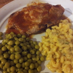 Baked Barbecue Pork Chops