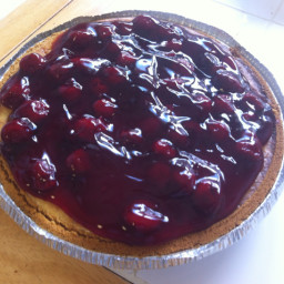 Baked Cheesecake Pie