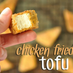 BAKED! Chicken Fried Tofu