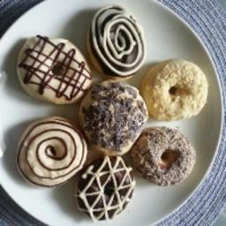 Baked Doughnuts without using doughnut pan