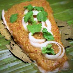Spicy Baked Fish (Molli Mexico City)