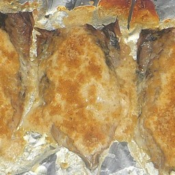 Baked Fish with Parmesan-Sour Cream Sauce
