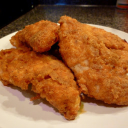 The Wonder Twins Baked Fried Chicken