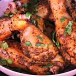 Baked Herb and Garlic Chicken Drumsticks