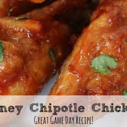 Baked Honey Chipotle Chicken Wings In the Oven