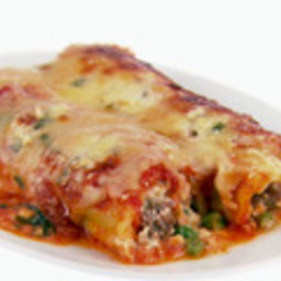 Baked Manicotti with Sausage