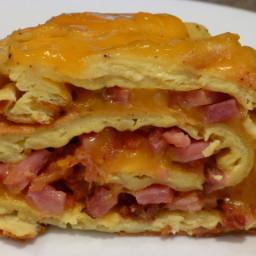 Baked Omelet Roll