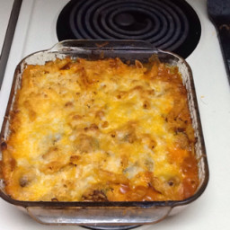Baked Rigatoni with Eggplant and Sausage