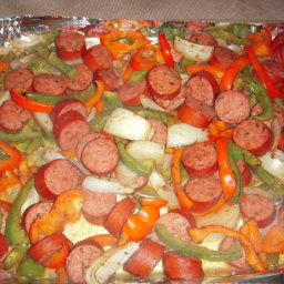 Baked Sausage and Vegetables