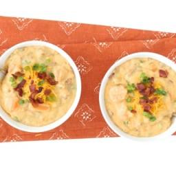 Baked Sweet Potato Soup